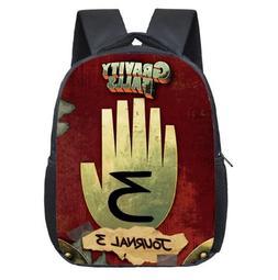 12 16 Inch Cartoon Gravity Falls Backpack For Girls Children