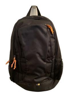 Case Logic 14-inch Laptop Backpack - Black and Orange