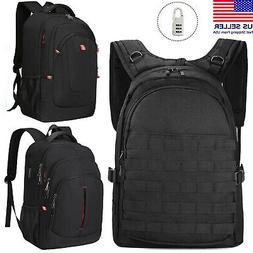 15.6/17.3 inch Laptop Backpack Anti Theft Waterproof USB Tra