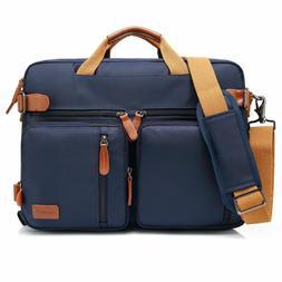 15.6 Convertible Laptop Backpack Messenger Business Briefcas