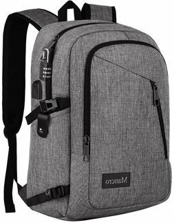 Mancro 15.6 in School Backpack, College Laptop Backpacks Ant