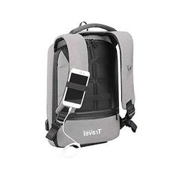 """15.6"""" Laptop Tablet School Travel Luggage Backpack W/Phone H"""