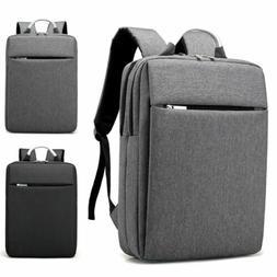"15.6"" Men Business Backpack Laptop Light Slim School Rucksac"