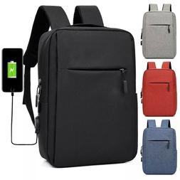 "15.6"" Men Waterproof Laptop Backpack Business School Rucksac"