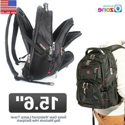 "15.6"" Swiss Gear Waterproof Laptop Travel Bag Macbook Hike B"