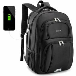 15.6inch Laptop Backpack,Water-Resistant Durable Travel Busi
