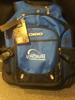 "Ogio 15"" Laptop Backpack ""Fugitive"" Blue Gamer Travel"