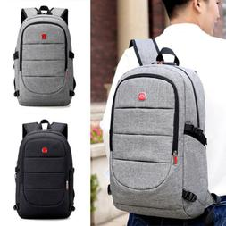 16inch Men's Laptop Backpack Anti-Theft Notebook Cases Bag +