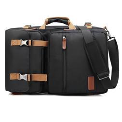 17.3 Inch Laptop Backpack Messenger Bag Nylon Computer Bag f