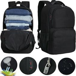 17.3 inch Laptop Backpack USB Anti Theft Waterproof Travel R