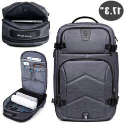"""17.3"""" Laptop Backpack Waterproof Briefcase MacBook Travel Bu"""