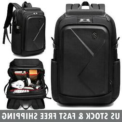 17 inch Laptop Backpack Anti Theft Waterproof Outdoor Should