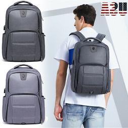 17 Inch Laptop Backpack Waterproof Notebook School Bag Busin