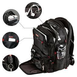 Extra Large TSA Friendly Durable Travel Backpack Anti-Theft