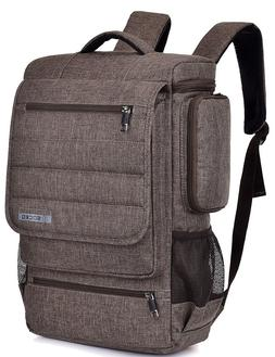 "17"" Work Business Laptop Backpack Storage Organizer Travel S"