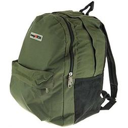 "18"" Backpack - Padded Laptop Sleeve Bottle Holders Upgraded"