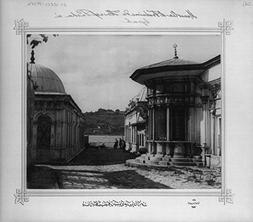 1880 Photo Fountain and the Mausoleum of Hu?rev Pa?a at the