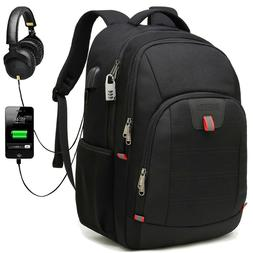 19 inch College or Travel Laptop Backpack with USB Port, Fit