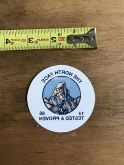 The North Face 1966 Tested And Proven Mountains Sticker/Deca