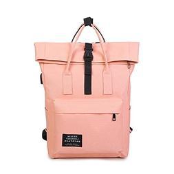 New 2017 Women Girls Backpack USB Charging Nylon Backpacks S