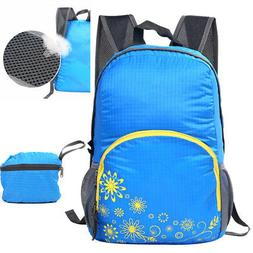 20L Foldable Waterproof Travel Backpack Laptop Multifunction