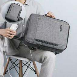 3 In 1 Laptop Backpack Business Travel School USB Shoulder B