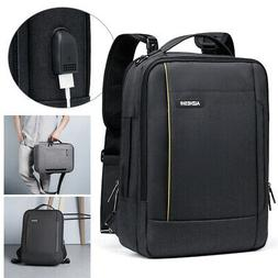 3 in 1 Laptop Backpack for 15.6 inch Notebook Messenger Hand