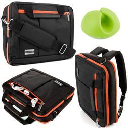 """VanGoddy Laptop Messenger Bag Backpack for 11.6"""" Dell Chrome"""