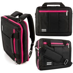 "3 in1 VanGoddy Laptop Messenger Bag Backpack for 13.5"" Micro"
