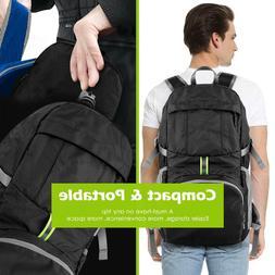 35L Foldable Waterproof Travel Backpack Laptop Multifunction