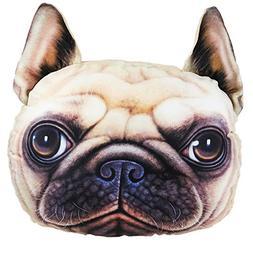 Vulcan-X 3D Cute Animals SharPei Pet Dog Auto Headrest Pillo