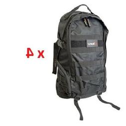 4 New Black Tactical Military Rucksack Backpack Laptop Schoo