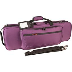 Protec 4/4 Violin Travel Light Violin PRO PAC Case - Purple,