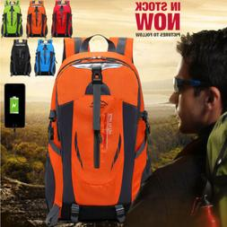 50L Mens Womens Travel Sports Non/Charging Backpack Laptop N