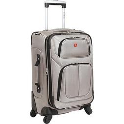 """SwissGear Travel Gear 6283 21"""" Spinner Carry-On Luggage Soft"""