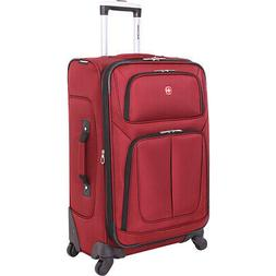 """SwissGear Travel Gear 6283 25"""" Spinner Luggage 6 Colors Soft"""