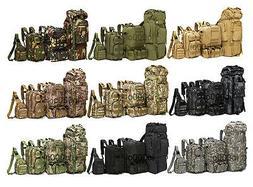 8L/10L/30L/55L/80L Outdoor Military Tactical Camping Hiking