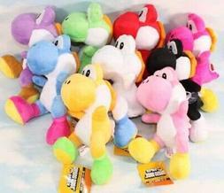 """8Styles Super mario bros running yoshi 8"""" Stuffed plush toy"""