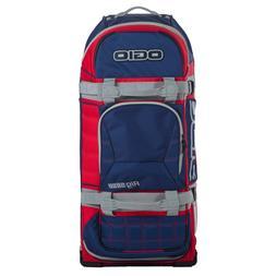 Ogio 9800 Wheeled Motosports Gear Bag Blue/Red/Grey