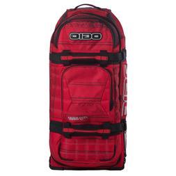 Ogio 9800 Wheeled Motosports Gear Bag Red Noise
