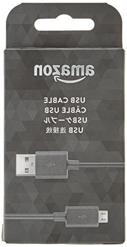 Amazon 5ft USB to Micro-USB Cable