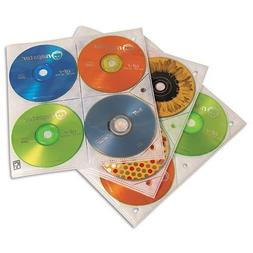 CLGCDP200 - Two-Sided CD Storage Sleeves for Ring Binder