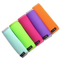 Cosmos ® 5 PCS Comfort Neoprene Handle Wraps/Grip/Identifie