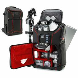 USA Gear Digital SLR Camera Backpack with Laptop Compartment