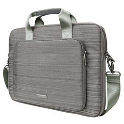 Evecase Laptop Messenger Bag, 15.6 Inch Suit Fabric Multi-fu