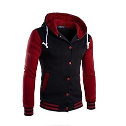 HOT Sale,AIMTOPPY Men Coat Jacket Outwear Winter Slim Hoodie