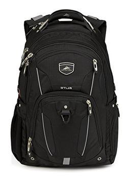 High Sierra Elite Business Backpack Gray Fits 17'' Laptop Cu