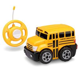 Kid Galaxy My First RC School Bus. Toddler Remote Control To