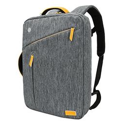 Laptop Backpack, Evecase Water Resistant Convertible Canvas