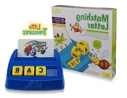 Little Treasures Matching Letter Game, Teaches Word Recognit